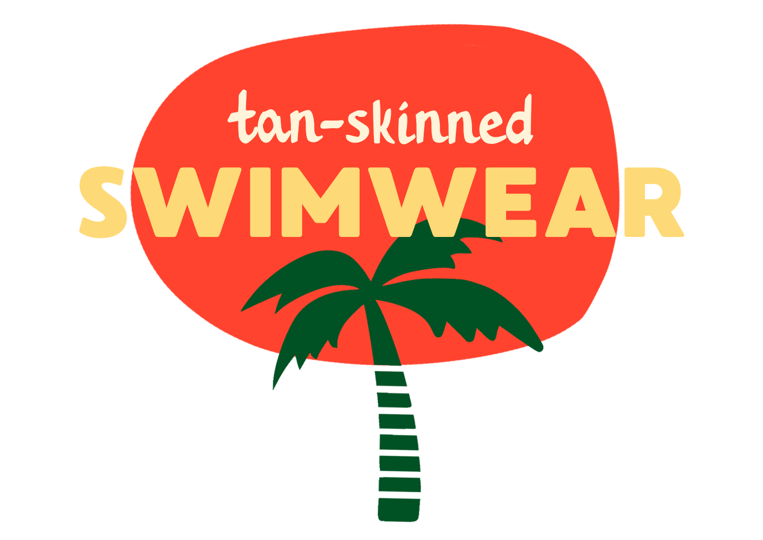 Tan-Skinned Swimwear